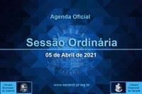 10ª Sessão Ordinária 2021 - 05/04/2021