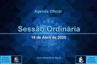 12ª Sessão Ordinária 2021 - 19/04/2021