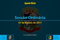 24ª Sessão Ordinária de 2017 - 07/08/2017