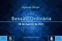 26ª Sessão Ordinária 2021 - 09/08/2021