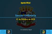 33ª Sessão Ordinária 2019