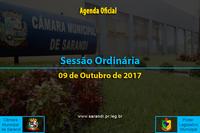 33ª Sessão Ordinária de 2017 - 09/10/2017