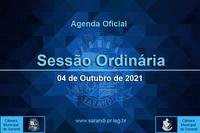 34ª Sessão Ordinária 2021 - 04/10/2021