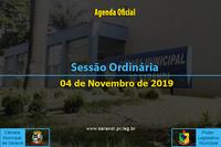 37ª Sessão Ordinária 2019