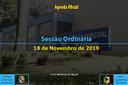 39ª Sessão Ordinária 2019