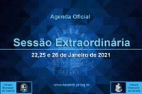 3ª Sessão Extraordinária 2021