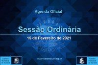 3ª Sessão Ordinária 2021 - 15/02/2021
