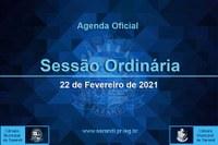 4ª Sessão Ordinária 2021 - 22/02/2021