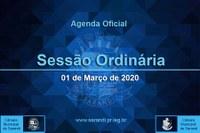 5ª Sessão Ordinária 2021 - 01/03/2021