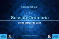 6ª Sessão Ordinária 2021 - 01/03/2021