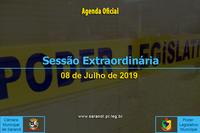 7ª Sessão Extraordinária 2019