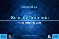 7ª Sessão Ordinária 2021 - 15/03/2021