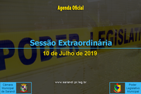 8ª Sessão Extraordinária 2019