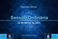 8ª Sessão Ordinária 2021 - 22/03/2021
