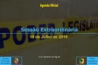 9ª Sessão Extraordinária 2019