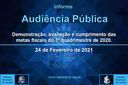 Audiência Pública - 24/02/2021