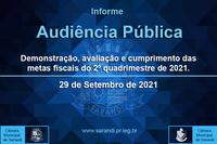 Audiência Pública - 29/09/2021