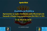 Audiência Pública de 11 de Abril de 2018