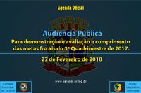 Audiência Pública de 27 de Fevereiro de 2018