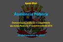 Audiência Pública de 24/02/2017
