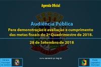 Audiência Pública de 28 de Setembro de 2018