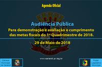 Audiência Pública de 29 de Maio de 2018