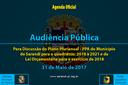 Audiência Pública de 31 de Maio de 2017