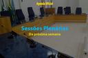 Confira as pautas das próximas Sessões