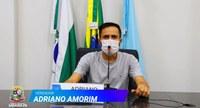 Fala vereador: Adriano Amorim - 19/08/2021