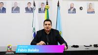 Fala vereador: Fábio Balako - 30/09/2021