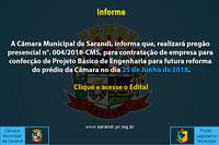 Informe - Pregão Presencial
