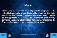 Informe - Expediente de 10/02/2021