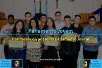 Posse do Parlamento Jovem