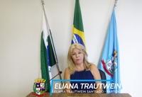 Quadro: Fala Vereador - Eliana Trautwein