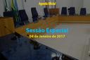 Sessão Especial de 04 de Janeiro de 2017