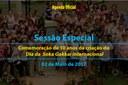 Sessão Especial - Dia da Soka Gakkai Internacional