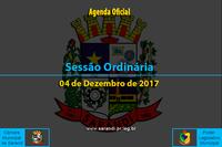 Sessão Ordinária de 04/12/2017
