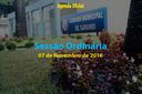 Sessão Ordinária de 07 de Novembro de 2016