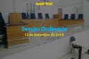 Sessão Ordinária de 12 de Setembro