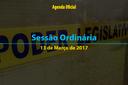 Sessão Ordinária de 13 de Março de 2017