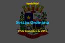 Sessão Ordinária de 19 de Dezembro de 2016