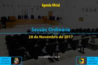 Sessão Ordinária de 28/11/2017